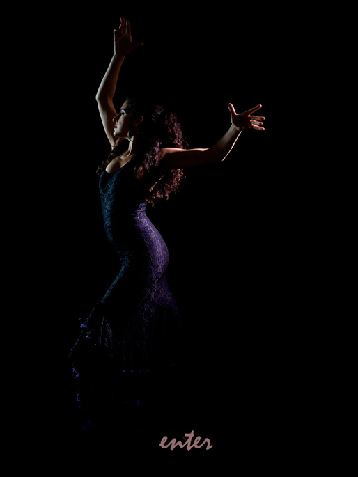 Anna Leon Flamenco Dancer